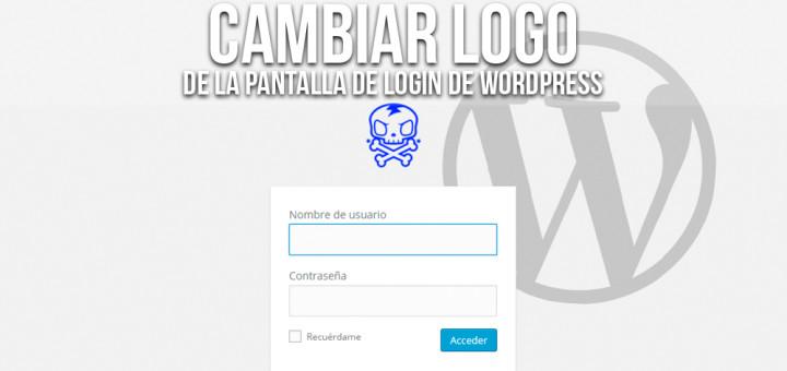 Reemplazar el logo del inicio de sesión de WordPress – Evaristo GZ