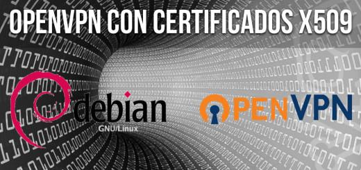 OpenVPN 2.3 en Debian Jessie.