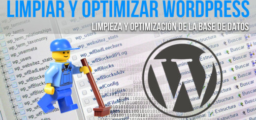 Guía para limpiar y optimizar la base de datos de WordPress.